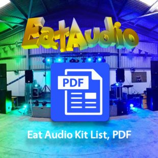 Eat Audio Kit List 2017 PDF