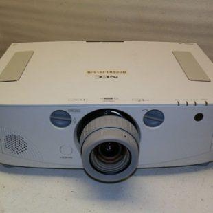 2 x NEC PA600x 6,000 Lumen Projectors
