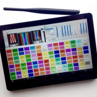 3 x DMX Control PC's / Tablets