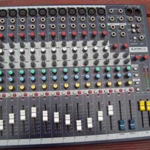 Soundcraft EPM-12 channel mixer